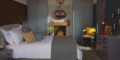 Esker Matt Anthracite Bedroom
